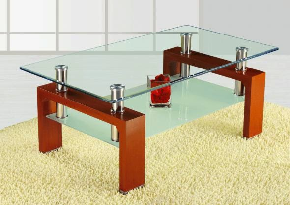 A Glass Coffee Table Is A Sign Of Elegance And Style