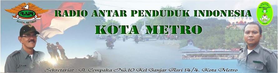 Selamat Datang Di Blog RAPI Wil IV Kota Metro