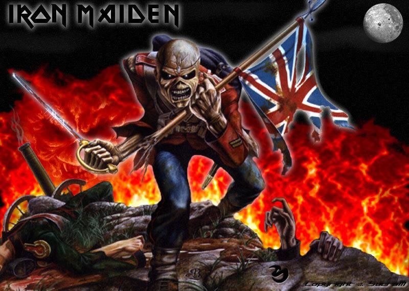 Iron Maiden - Wallpaper
