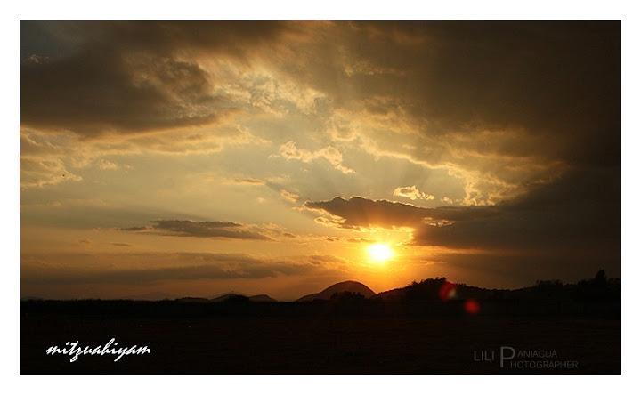 sol, paisaje de iramuco