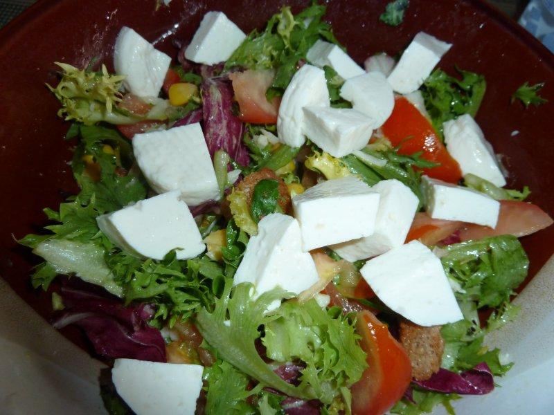 Salada com todos