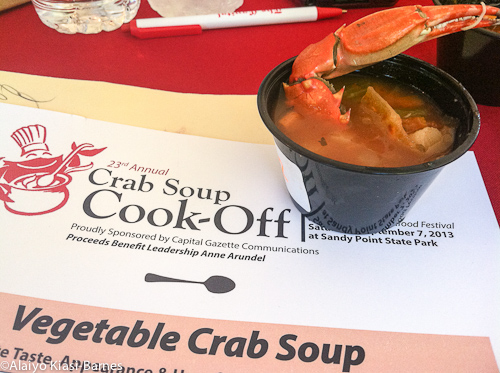 Ballot and crab soup entry_Pescetarian Journal