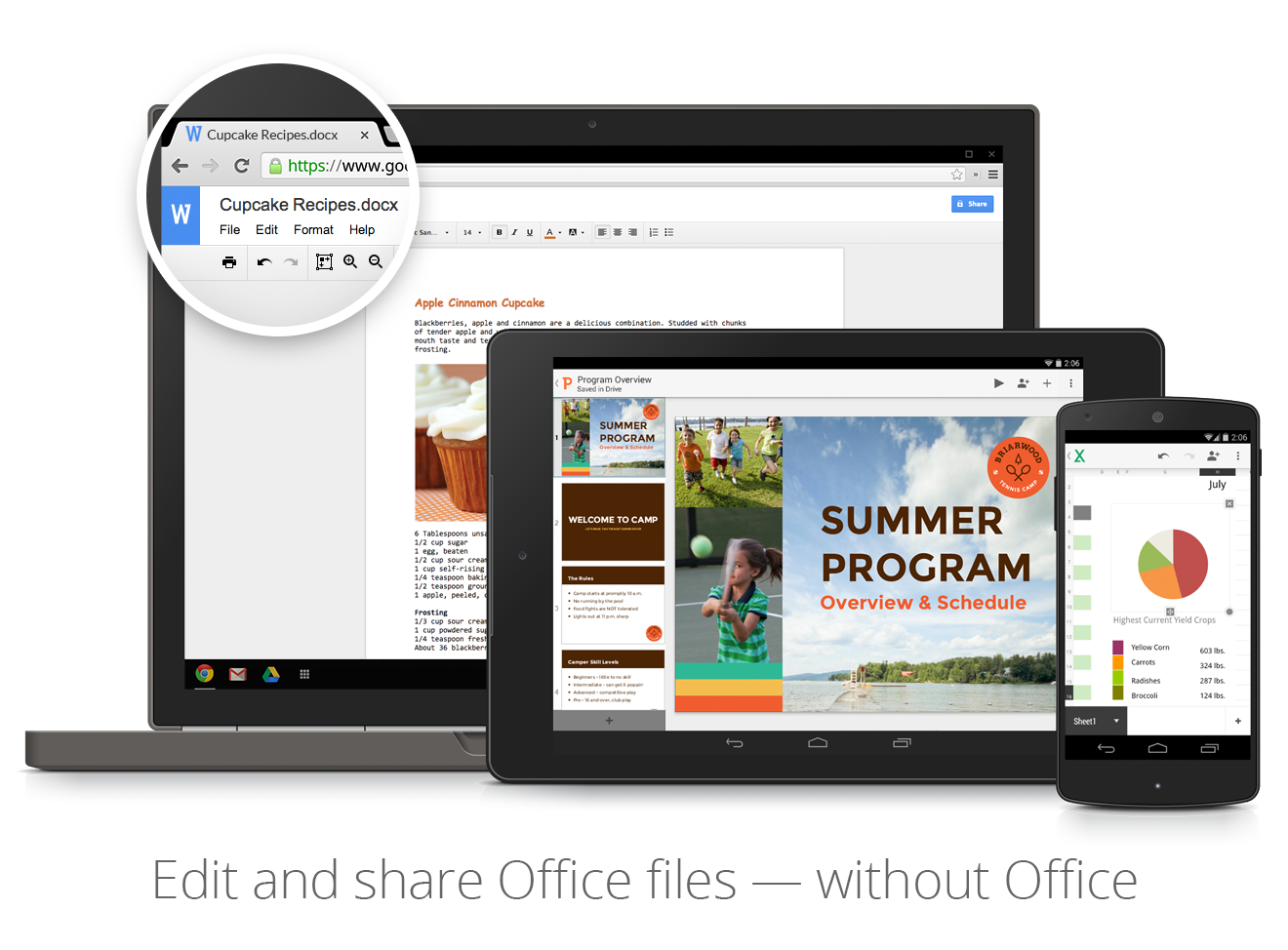 Improved Office conversion for Google Drive
