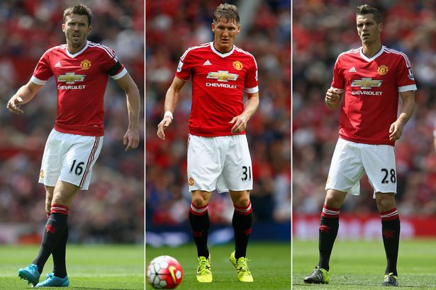 Negative: Van Gaal plays two holding midfielders when it simply isn't necessary