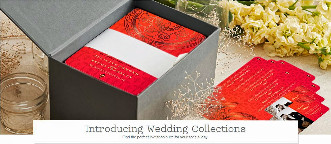 """Orange Damask"" ~ Wedding Invitation Collection"