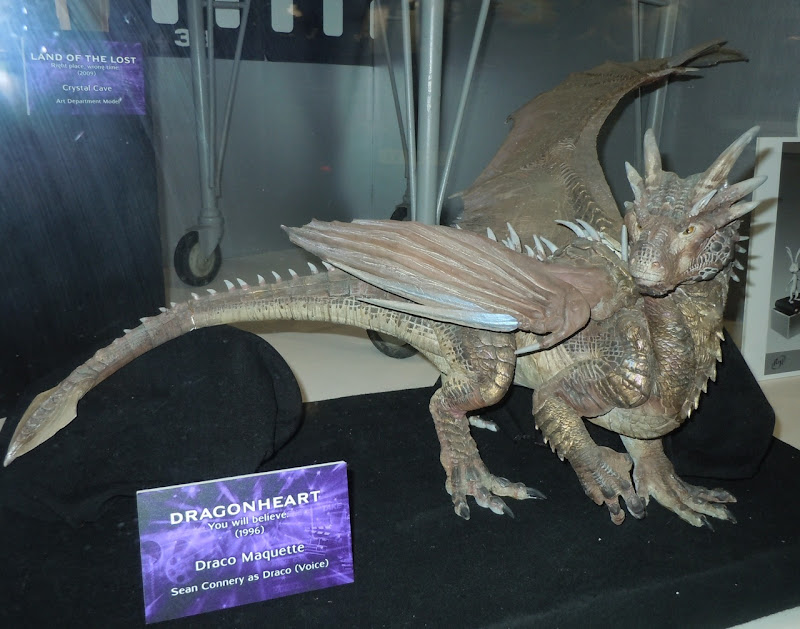 Draco Dragonheart maquette