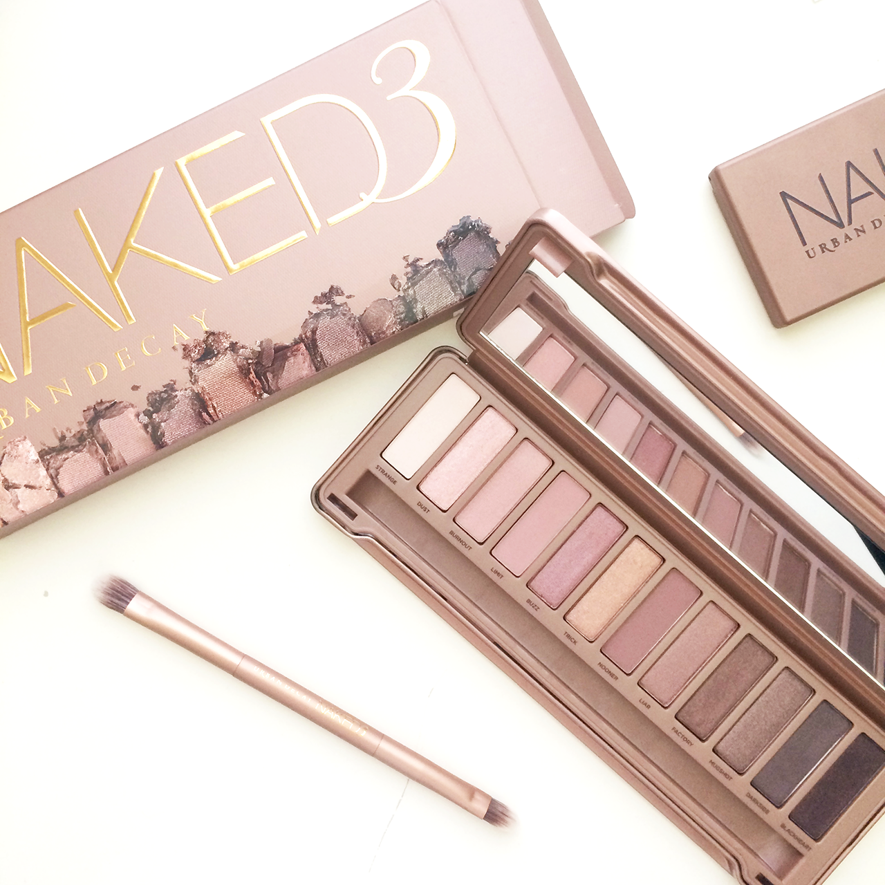 urban decay naked 3 palette, should i buy the naked 3 palette, is the naked 3 palette the same as the naked 1 and naked 2 palette, urban decay naked palettes