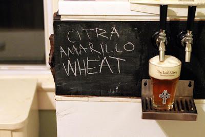 Third Version of the Modern Times Hoppy Citra Amarillo Wheat.