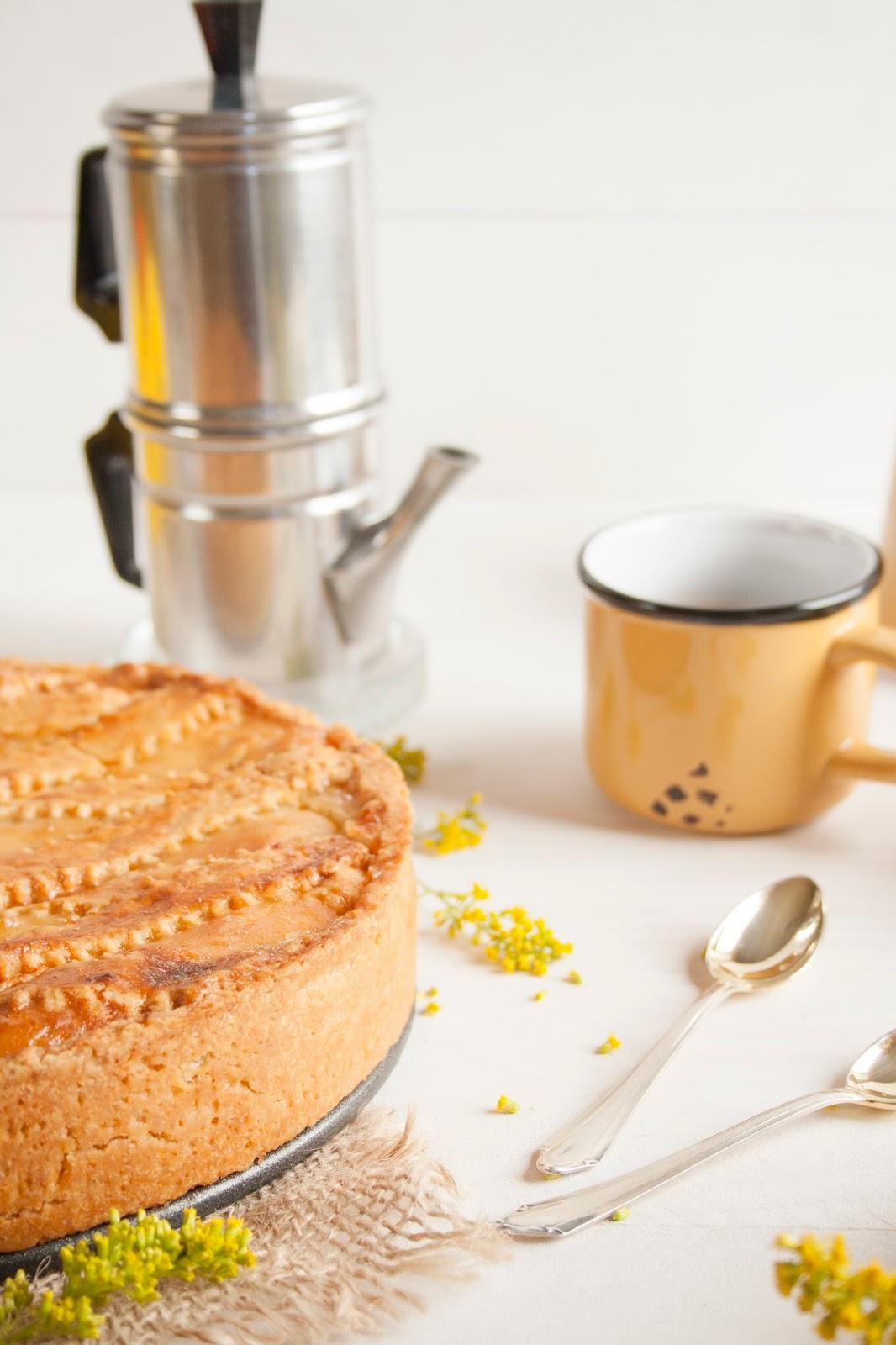 Pastiera y café