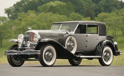 a luxury car from the early 20th century