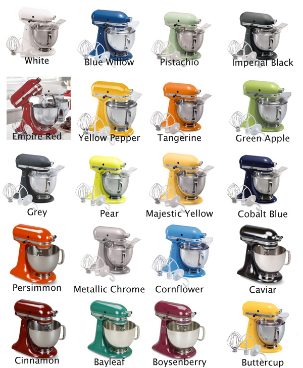 Stunning KitchenAid Mixer Colors 600 x 729 · 155 kB · jpeg