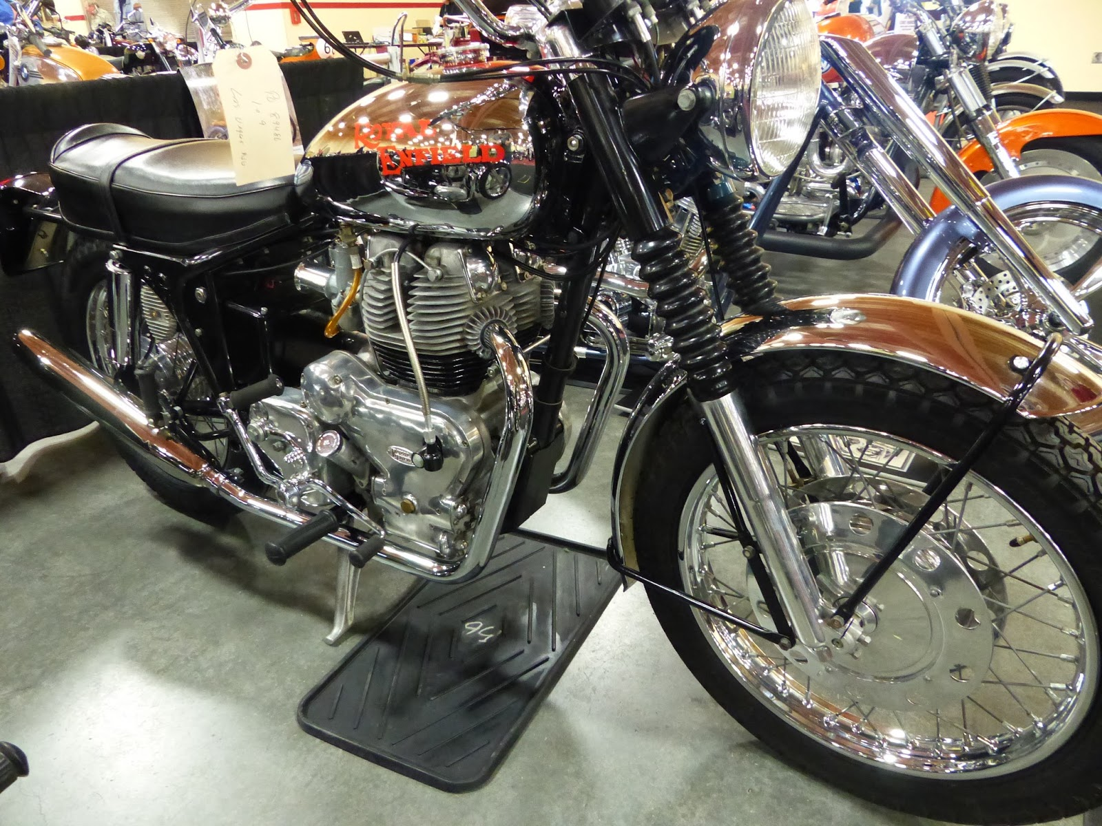 oldmotodude royal enfield interceptor sold for 10 750 at. Black Bedroom Furniture Sets. Home Design Ideas