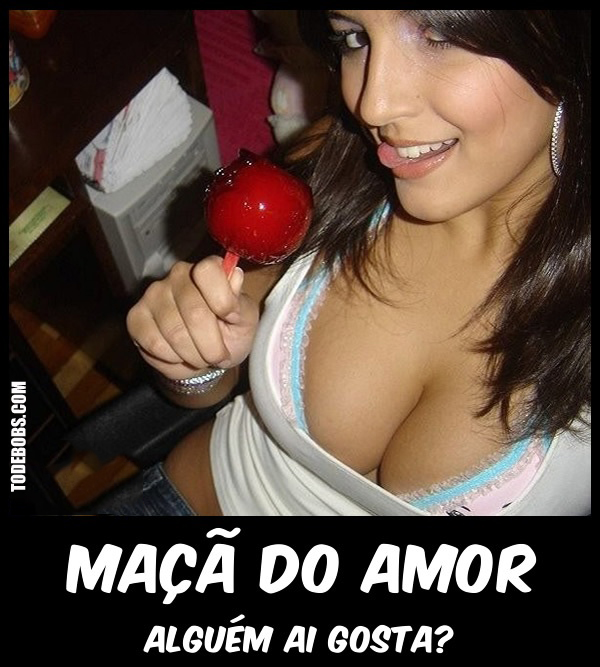 maca Maçã do amor