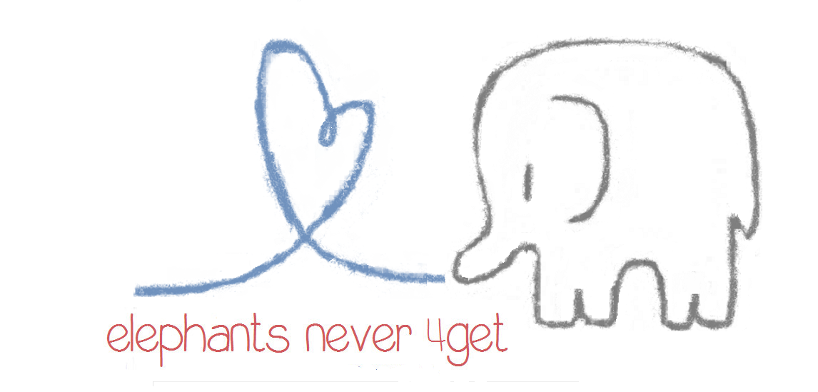 elephants never 4get