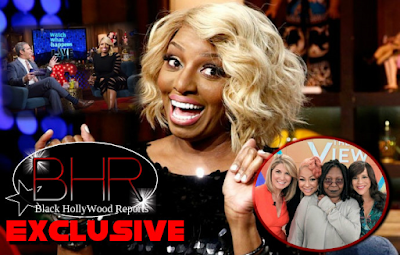 "Former RHOA Star NeNe Leaks Calls Out ""The View"" On Watch What Happens Live With Andy Cohen"