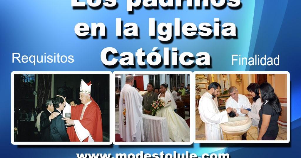 Padrinos De Matrimonio Catolico : Modesto lule zavala los padrinos en la iglesia católica