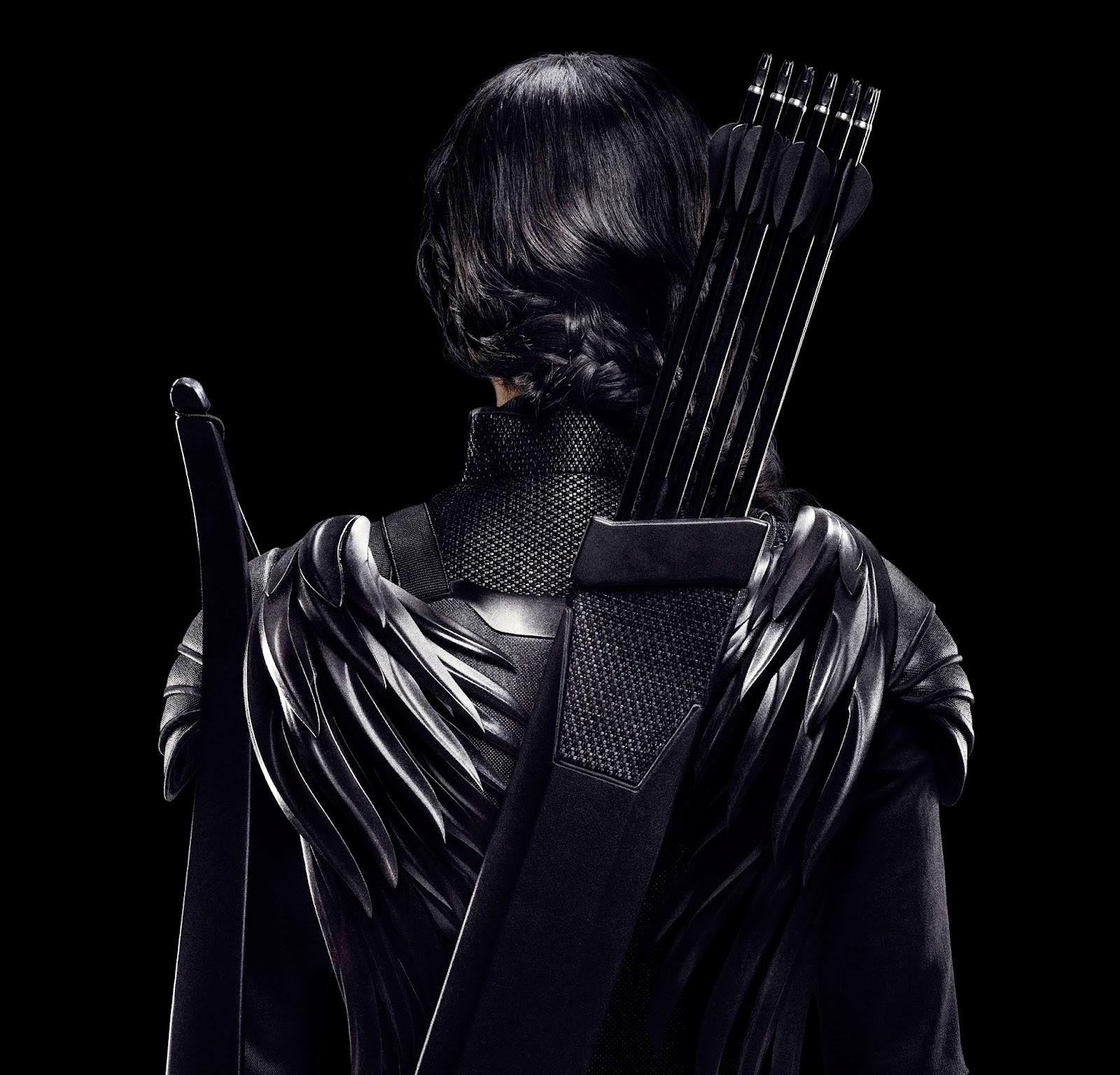 Cartel final de 'Los Juegos del Hambre: Sinsajo. Parte 1'. Katniss Everdeen. MÁS CINE. Making Of. Noticias