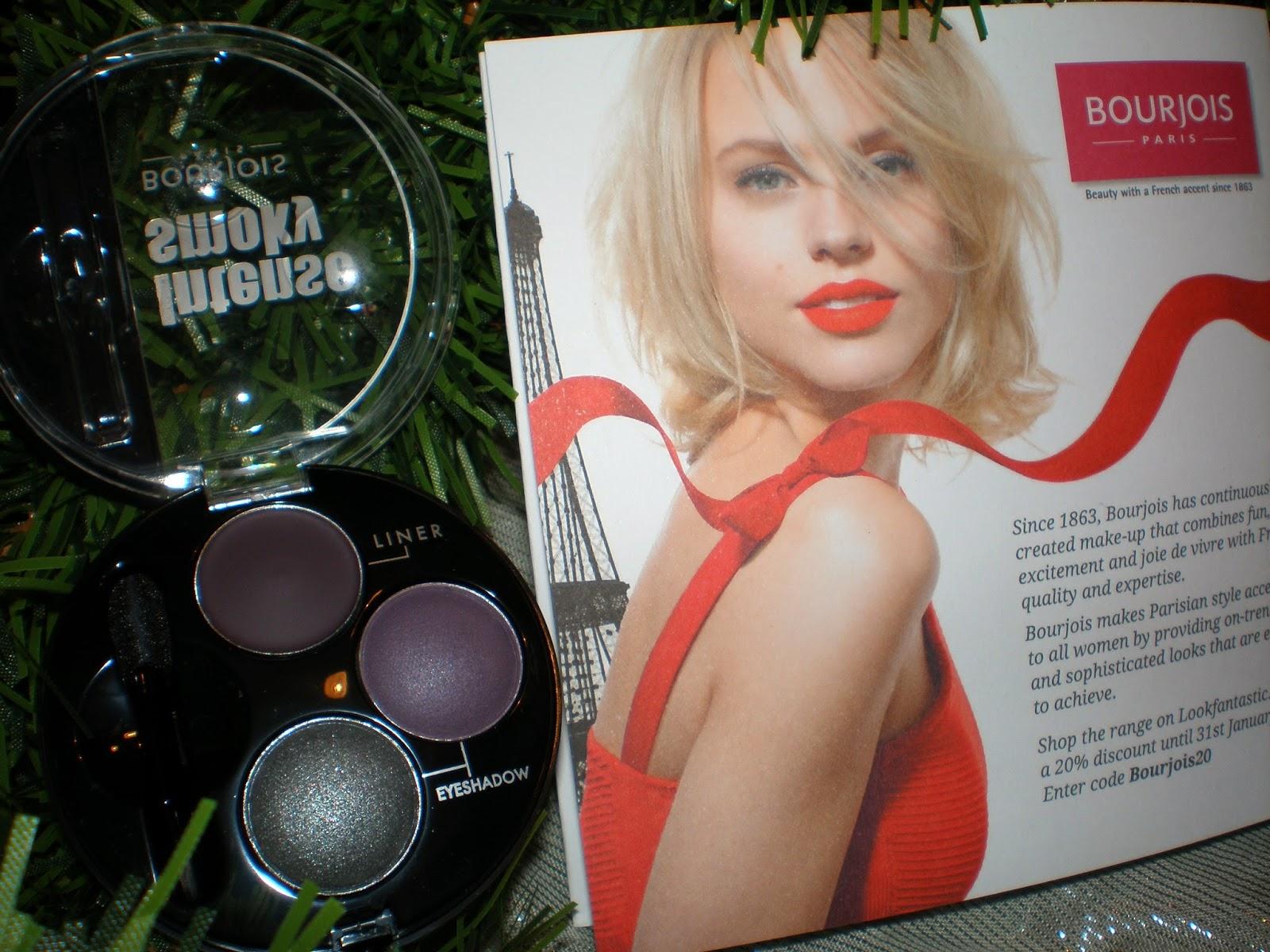 Bourjois Paris Intense Smoky Eyeshadow & Liner in Violet Constelle