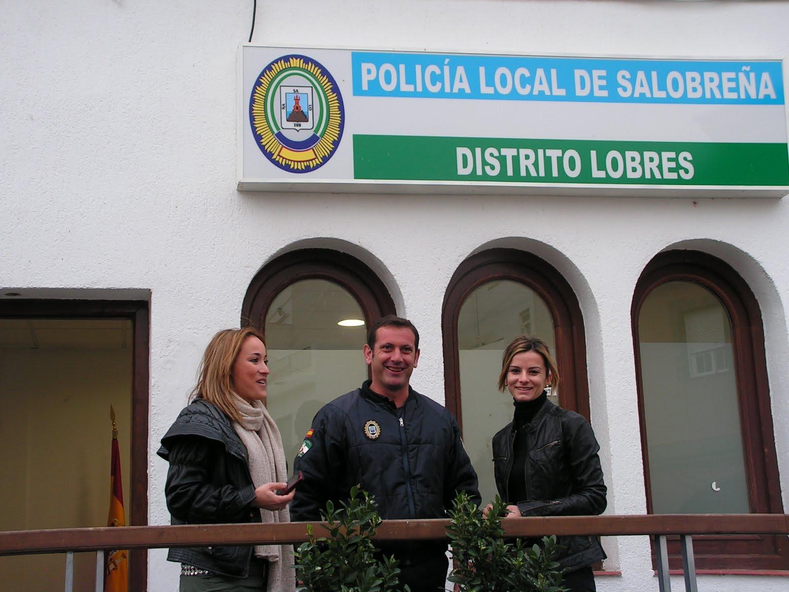 Lobres cuenta ya con una oficina de distrito de la polic a for Oficina de policia