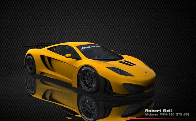 FIA GT3 Mclaren MP12C rFactor