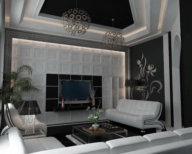 Pvc ceiling designs types photo galery for Types of ceiling designs