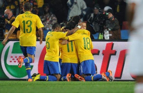 Hora Brasil vs Croacia - Partido Inaugural del Mundial 2014
