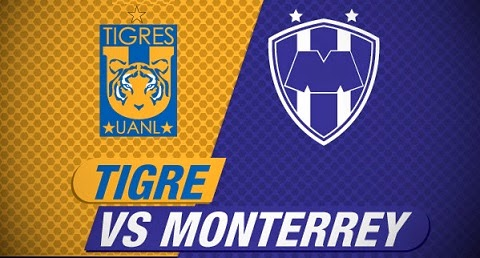 Links Tigres vs Monterrey en VIVO