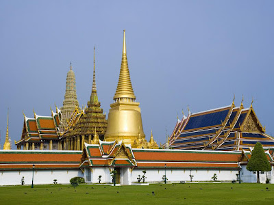 The royal grand palace, Thailand