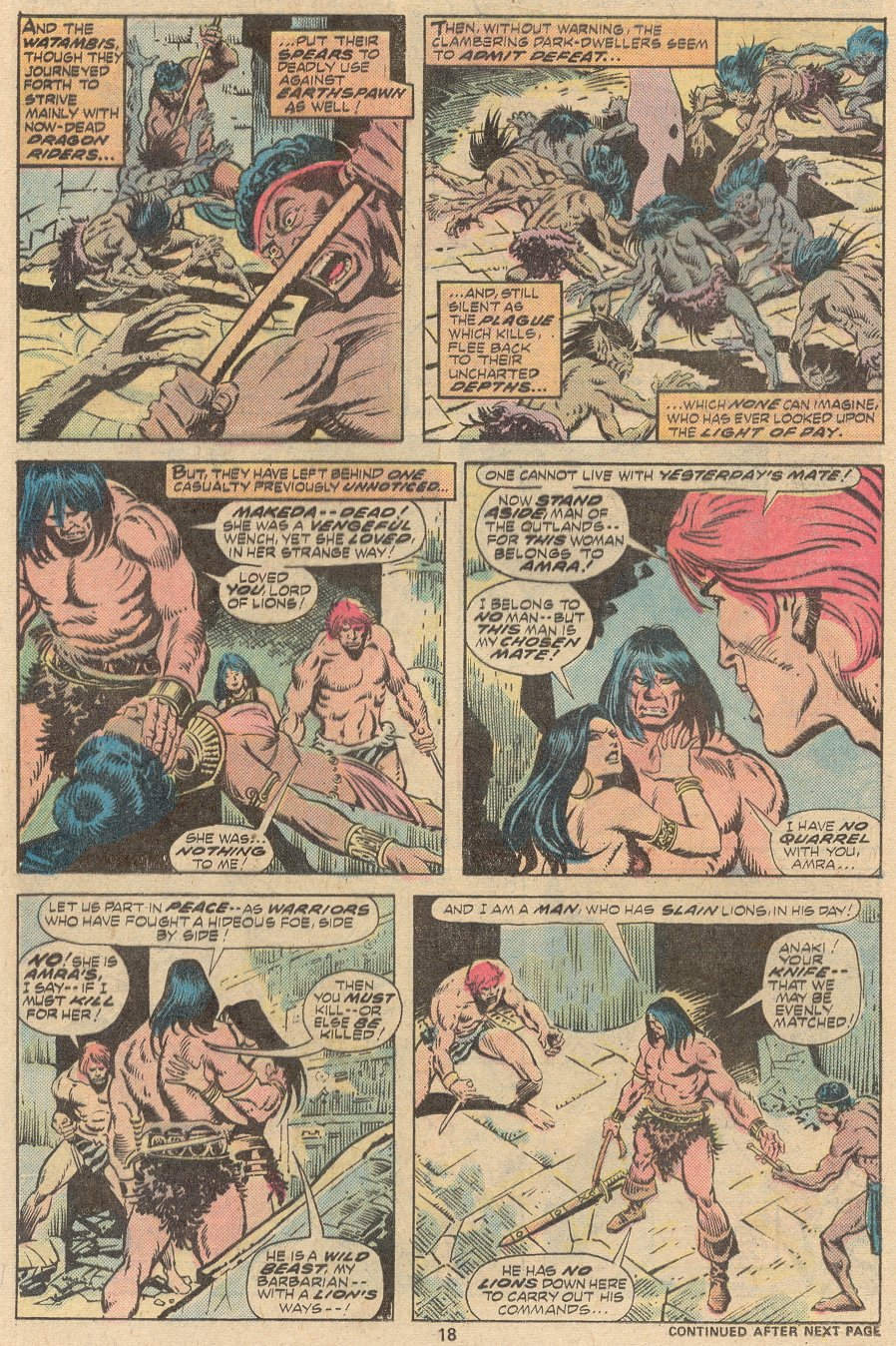 Conan the Barbarian (1970) Issue #63 #75 - English 13