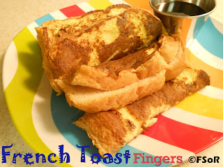 French Toast Fingers | A kid-friendly breakfast treat featuring your choice of flavor for jelly. Add peanut butter for extra deliciousness #breakfast #recipe