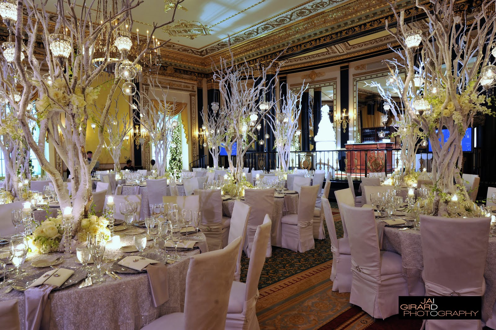 Snowflake Wedding Decorations