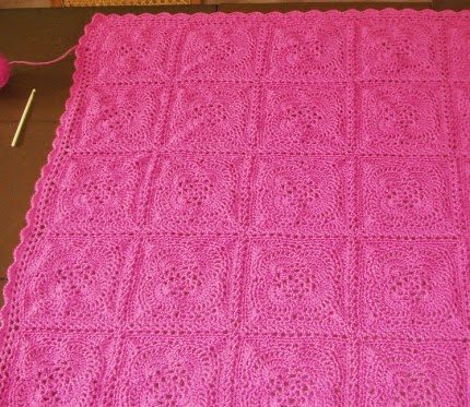 Spring Breeze Afghan Square - Free Pattern