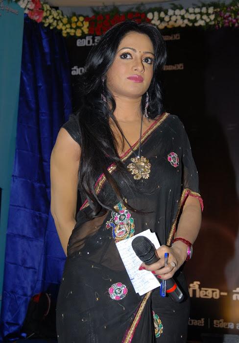 udaya bhanu saree actress pics