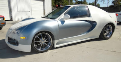 bugatti veyron replica based on honda civic for sale. Black Bedroom Furniture Sets. Home Design Ideas