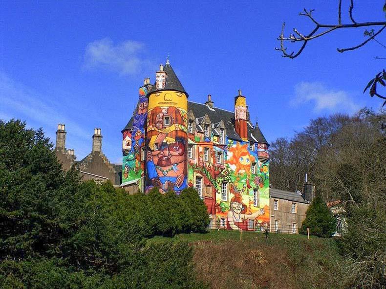 El pintoresco Castillo de Kelburn | Escocia