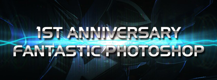 1st Anniversary fantastic photoshop