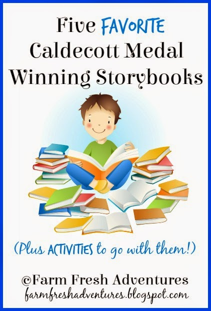 Favorite Caldecott Medal Winning Storybooks and Activities
