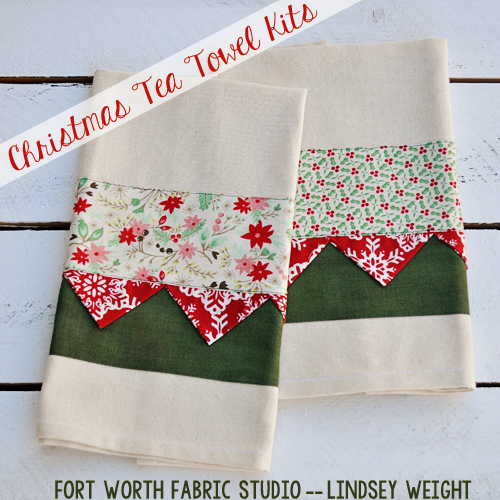 Christmas Tea Towels uk Christmas Tea Towel Kit