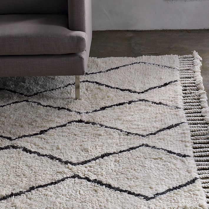 west elm's contemporary rugs come in a variety of prints and solids. Choose from modern area rugs, modern wool rugs and hand-woven rugs.