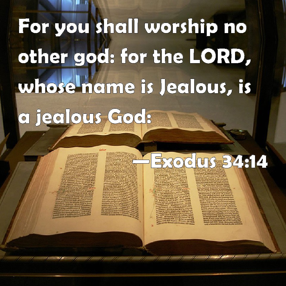 Image result for exodus 34:14