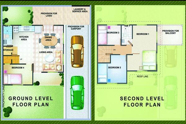 Olive model house of parc regency residences of pro for Regency house plans