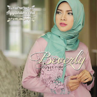 Ayyanameena Beverly Dusty Pink