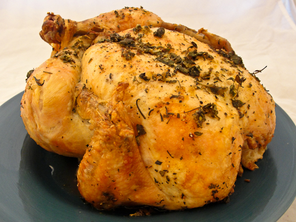 Cogito Ergo Consume: Herb-Roasted Whole Chicken