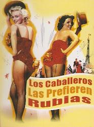 Los Caballeros las Prefieren Rubias (Marilyn Monroe)
