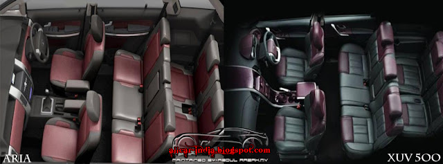 automotive craze comparison test mahindra xuv 500 vs tata aria. Black Bedroom Furniture Sets. Home Design Ideas