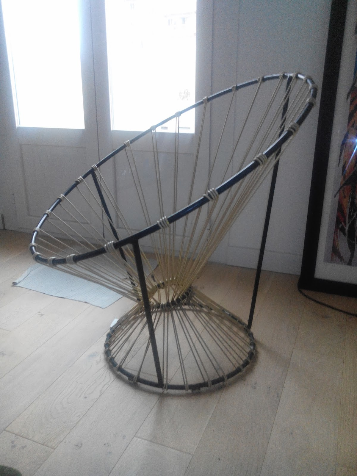 mobilier scoubidou r novation de chaise scoubidou. Black Bedroom Furniture Sets. Home Design Ideas