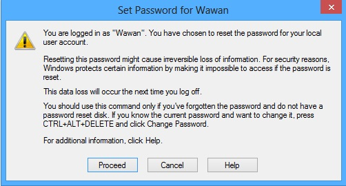 Ubah Password Windows Tanpa Mengetahui Password Lama