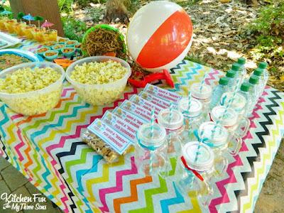 Easy Teddy Bear Beach Party! KitchenFunWithMy3Sons.com