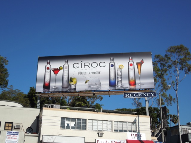 Ciroc Vodka smooth billboard