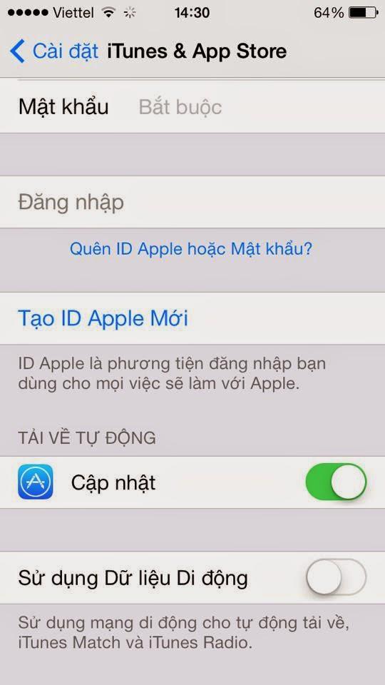 Cách dùng 3G tiết kiệm trên iPhone